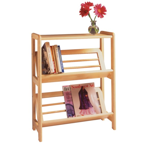 82430.jpg - Juliet Bookshelf with Slanted Shelf